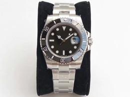 Супер Фабрика мужские часы V8 Топ Водонепроницаемый Роскошные Часы 30 мм Зеленый Черный Стол Керамическое Кольцо 116610 ETA 2836 Motion Automation на Распродаже
