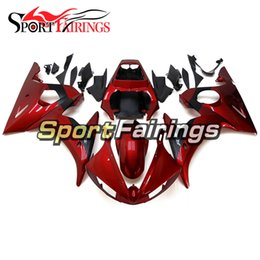 $enCountryForm.capitalKeyWord Australia - Brand New Sportbike Cowlings For Yamaha YZF-600 R6 2003 2004 High Quality ABS Plastic Fairings 2003 2004 Injection Bodywork Candy Red Cover