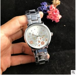 $enCountryForm.capitalKeyWord Canada - Fashion Watches michael Quartz Watch Casual Full Steel Dial Style woman All over the sky stars Crystal Diamond Rome Word Dial Style Watches