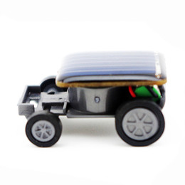 Small Child Toy Car UK - Toys For Children Smallest Mini Car Solar Power Toy Car High Quality Racer Educational Gadget Children Kid's Top Selling Toys