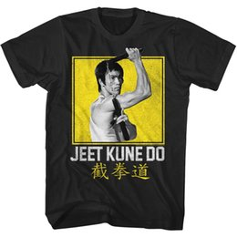 82deea29d030 Bruce Lee Mens T-Shirt BOXY JEET KUNE DO NEW Sizes SM - 5XL 100% Black  CottonFunny free shipping Unisex Casual Tshirt