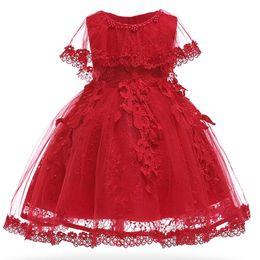 $enCountryForm.capitalKeyWord UK - Bautizo Baby Girls Dress Infant Party Dresses Vintage Newborn Baptism Prom Gown Christening Frocks For Girl Dress 1st Birthday Y19061101
