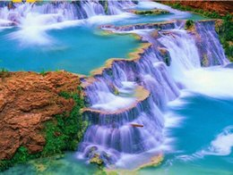 Money Paintings Australia - 40x50cm painting by numbers waterfall paintings for painting wall art home