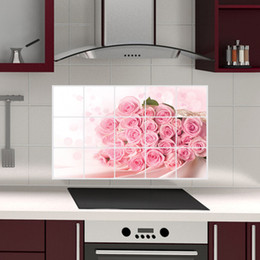 $enCountryForm.capitalKeyWord Australia - Kitchen Wallstickers Defence Oil Sticker Tile Stickers Waterproof Wallpaper Self-Adhesive Home Decoration Accessories Removable Wall Decal