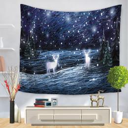 $enCountryForm.capitalKeyWord Australia - Dream Elk Tapestries Bedroom Living Room Hang Rug Home Decorative Tapestry Picnic Beach Mat Throw Rug Blanket Travel Mattress Sleeping Pad