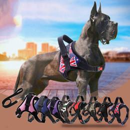 $enCountryForm.capitalKeyWord Australia - New Pets Dog Harness Vest Reflective Tape Breathable Mesh Pet Dogs Leash Harness Accessories