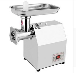 China 120kg hour 220V 110V Electric Commercial meat grinder sausage; Meat mincer; Electrical meat tackle machine ALL stainless steel supplier machine sausages suppliers