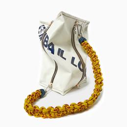 $enCountryForm.capitalKeyWord Australia - Spain personality casual hit color tofu block bag square thick rope large capacity bags
