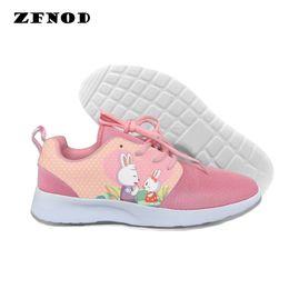 $enCountryForm.capitalKeyWord Australia - Raisevern Fashion Joggers shoes Men Women Funny Cartoon Sweatshoes Elastic white pink Lace-Up shoes