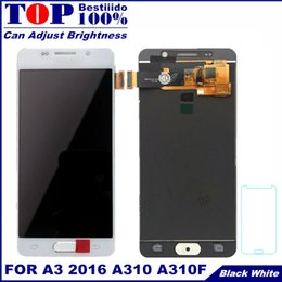 $enCountryForm.capitalKeyWord NZ - For Samsung Galaxy A3 2016 A310 A310F A310H A310M LCD Tested Display Digitizer Touch Screen Assembly with Brightness Control