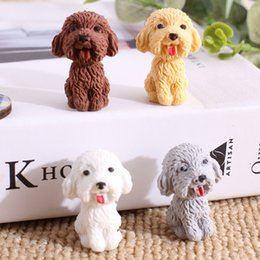 $enCountryForm.capitalKeyWord Australia - 2019 1pcs lot Cartoon Cute Dog Rubber Eraser Art School Supplies Office Stationery Novelty Pencil correction supplies