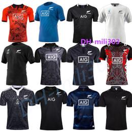 1ce6c484d 2019 2020 NUEVA ZELANDA Jerseys de rugby All Blacks de la mejor calidad  Edición conmemorativa del aniversario de 100 años Camiseta de rugby de  Nueva Zelanda ...