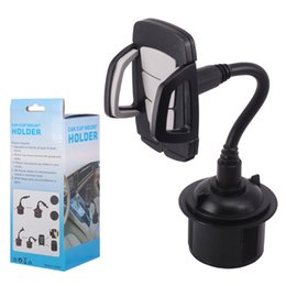 Wholesale Car Cup Mount Phone Holder degree cell phone holder Stand Cradle For iphone X XS XR Max Plus samsung huawei GPS Portable Stand