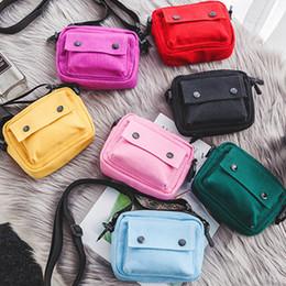 $enCountryForm.capitalKeyWord Australia - Children Canvas Cross Body Bag Fashion Mini Shoulder Bag Cute Canvas Messenger Bags Coin Purse Pack For Child Handbags #15