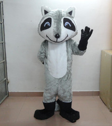 fox animal mascot costume Canada - Halloween Gray Fox Mascot Costume High Quality Cartoon Animal Anime theme character Christmas Carnival Party Costumes