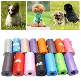 poop products Australia - 15 pieces   1 roll Degradable litter for dogs & pets pet litter bag cat collection poop cleaning bag pet supply product