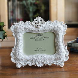 Wedding Gifts Photo Frames NZ - European Classic Photo Frame Hight Quality Resin Picture Frames For Home Decoration Wedding Desktop Photo Frame Birthday Gifts