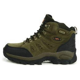 cool new shoe brands UK - High Quality Unisex Hiking Shoes New Autumn Winter Brand Outdoor Mens Sport Cool Trekking Mountain Woman Climbing Athletic Shoes