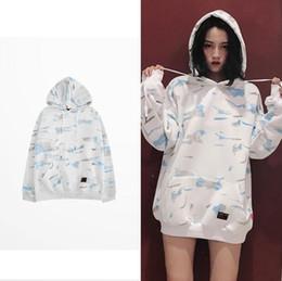 Streetwear Skate online shopping - Unisex men women Particular white camouflage streetwear hoody oversized Casual Hiphop Skate winter warm sweatshirts