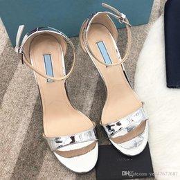 $enCountryForm.capitalKeyWord Australia - High quality design spring new fashion temperament dinner high heels, elegant ladies high heel true leather sandals, with original packaging