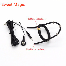 Electric Shock Toys For Sex Australia - Sweet Magic Electric Shock Sex Toys Silcone Glans Ring Electrical Stimulate Cockring Medical Themed Toy for Men