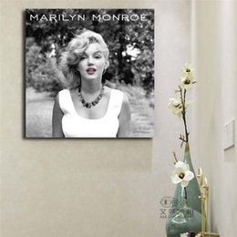 marilyn monroe canvas prints NZ - Marilyn Monroe Art Canvas Poster Painting Wall Picture Print Modern Home Bedroom Decoration Framework
