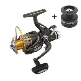Gear Spinning Australia - Spinning Fishing Reel 9BB + 1 Bearing Balls 5.1:1 Gear Ratio 3000-6000 Series Metal Coil Spinning Reel Boat Rock Fishing Wheel