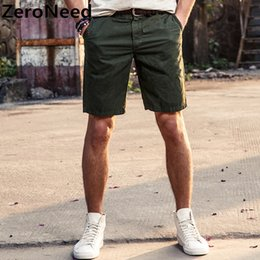 $enCountryForm.capitalKeyWord Australia - Casual Cargo Mens Summer Cotton Cool Brand Shorts Knee Length Large Size 2019 Men Style Short Homme Marque 127 J190506