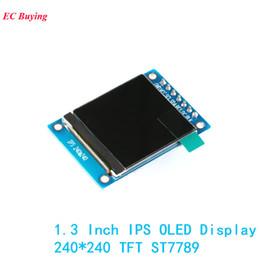 $enCountryForm.capitalKeyWord Australia - 1.3 Inch Ips Oled Display Module 240*240 Rgb Tft For Arduino Diy Lcd Board St7789 7pin 4-wire Electronic