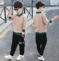 Foreign clothes online shopping - The new style of baby s foreign style children s clothes handsome boys spring and autumn sports year tide manufacturer sells directly in