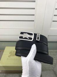 $enCountryForm.capitalKeyWord NZ - Black ostrich pattern new steel buckle Mens Belt Authentic Official Belt With Box