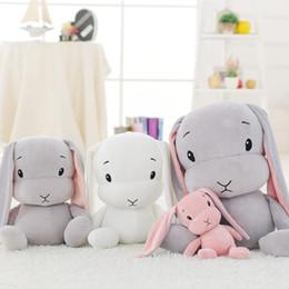 $enCountryForm.capitalKeyWord Australia - 30 50 70cm Cute Long Ears Rabbit Plush Toys Bunny Stuffed Plush Animal Baby Toys Doll Baby Accompany Sleep Toy Gifts For Kids J190718