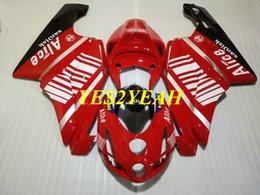 $enCountryForm.capitalKeyWord Australia - Injection mold Fairing body kit for DUCATI 749 999 03 04 ducati 749 999 2003 2004 Red Fairings bodywork+Gifts DD47