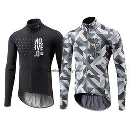 2020 Новая весна / осень Мужские Morvelo Maillots Ciclismo с длинным рукавом задействуя Джерси рубашки MTB горный велосипед Верхняя одежда Одежда на Распродаже