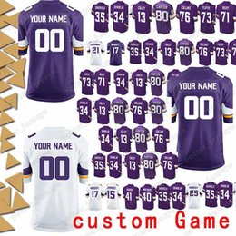 Minnesota 99 Danielle Hunter Jersey vikings 97 Everson Griffen 98 Linval  Joseph 54 Eric Kendricks 17 Jarius Wright custom Game Jerseys b4c9f8465
