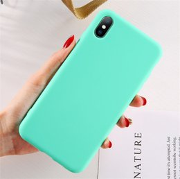$enCountryForm.capitalKeyWord Australia - New Arrived Fashion colorful phone case for iPHONE xsmax xs x xr iphone 8 plus 7 7plus 6 6splus universal cell phone case Korea style