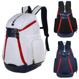 Womens faux leather online shopping - New National Team Backpack The Olympic Mens Womens Designer Bags Teenager Black White Blue Outdoor Basketball Backpack Colour