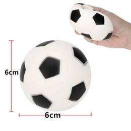 Wholesale Smaller Anti stress Fun Toy Kid Adult Gift Boys Girls Kawaii Football Squishy Slow Rising Cream Scented Funny Joke Anti Stress Toys