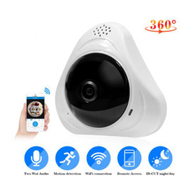 tilt network camera Canada - HD 960P 360 Degree Wireless IP Cameras Night Vision Wifi Camera IP Network Camera CCTV Home Security Camera Baby Monitor 2CUHS0613 DHL