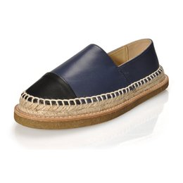 3532c2e39 FITOW Real Leather Women's Shoes Espadrilles Brand Comfort Flat Shoes Top  Quality Mixed Colors Casual Loafers Plus Size 34-42