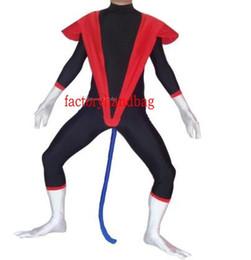 $enCountryForm.capitalKeyWord Australia - X-men Nightcrawler Halloween Party Cosplay lycra tights activities Costumes Catsuit Zentai Suit