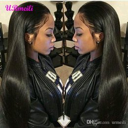 $enCountryForm.capitalKeyWord Australia - 360 Lace Frontal Human Hair Wigs Malaysian Straight Virgin Remy Hair Lace Wig 150% Density 10-26 Inch Front Lace Wigs For Black Womens
