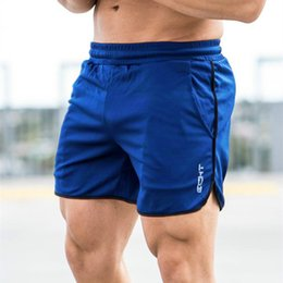 $enCountryForm.capitalKeyWord NZ - New Men Fitness Bodybuilding Shorts Man Summer Gyms Workout Male Breathable Mesh Quick Dry Sportswear Jogger Beach Short Pants