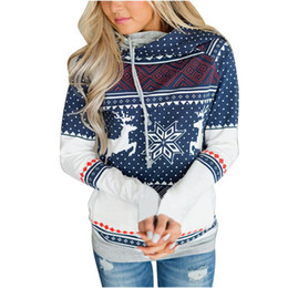 Reindeer Color Australia - 2017 Winter Hoodie Sweatshirt Women Brand Clothes With Reindeer Patchwork Long Sleeve Luxury Designer Hoodies Pullover Streetwear