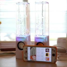 $enCountryForm.capitalKeyWord Australia - Best Seller colorful laptop Water Dancing Speakers Light Show Water Fountain Speakers LED Music Fountain Dancing speaker 3W*2
