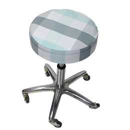 $enCountryForm.capitalKeyWord Australia - Round Bar Stool Cover Cushion Chair Slipcover Set of 2 Elastic Printed Seat Slipcover for Home Bar Office Decor for living room and bedroom