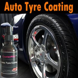 More Anti Australia - CoaterPRO Auto Tyre Coating nano protective hot shine high gloss coating agent 100ml make tyre more black anti aging