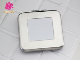 $enCountryForm.capitalKeyWord Australia - 5kit 57mm Square mirror blank + fit 32mm square epoxy sticker, metal vintage round blank compact pocket mirror bezels tray