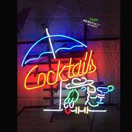 $enCountryForm.capitalKeyWord Australia - Cocktail Neon Sign Light Party Pub Wall Decor Real Glass Tube Artwork