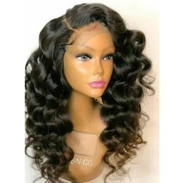 12 14 16 inch wig NZ - 130% Density 360 Lace Frontal Wig Wave Curly Human Hair Brazilian Remy Hair Wigs Pre Plucked With Baby Hair 14 inch with natural color